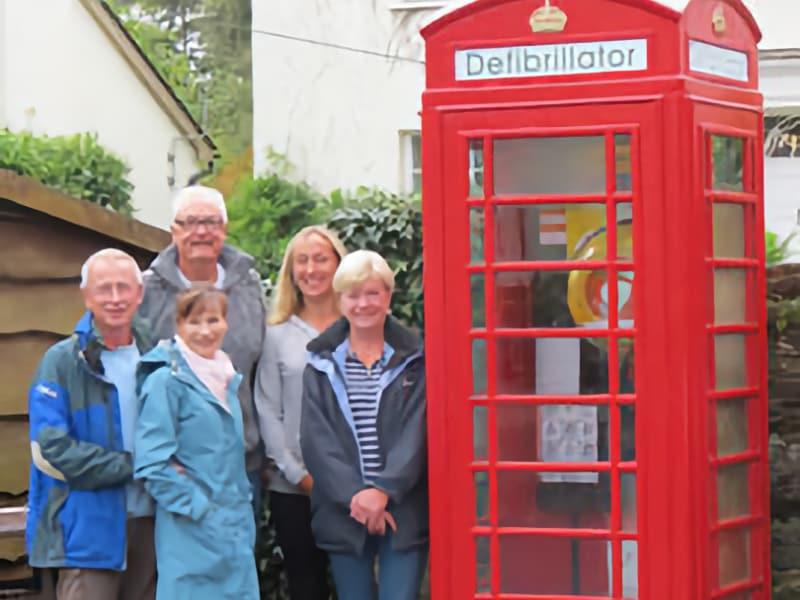 Ashprington and Tuckenhay Defibrillators